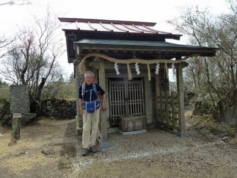 吾国山の山頂