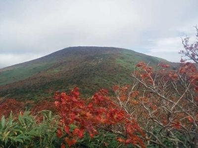 箕輪山の紅葉