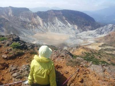 火山口「沼の平」