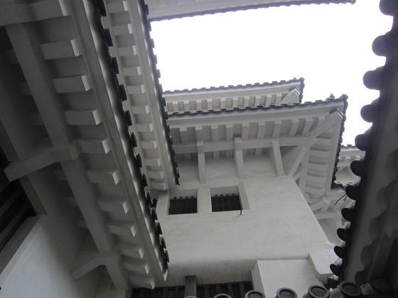 姫路城 漆喰
