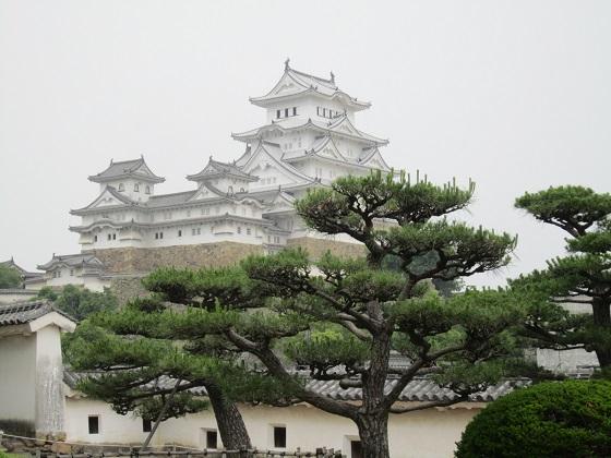 姫路城 西の丸から
