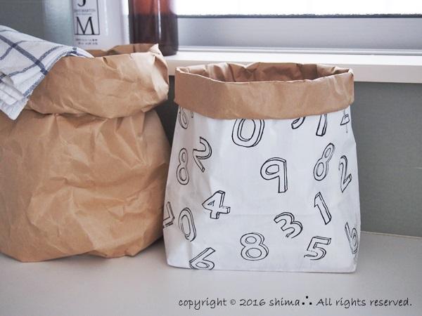 20160913ペーパーバッグとプチDIY9