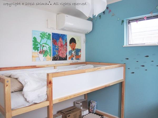 20161004子供部屋にベッド2