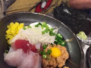 海鮮納豆(バクダン)