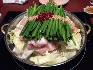 もつ鍋(透衛門) -元祖塩とんこつ味-