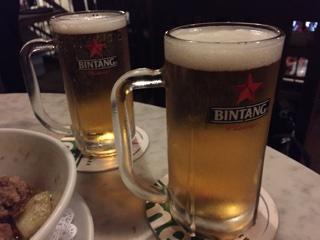 ビンタン生ビール