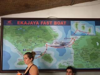 航路の地図