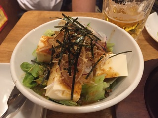 さっぱり豆腐サラダ