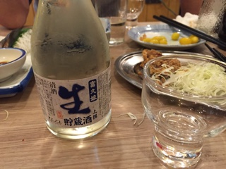 冷酒(灘流儀)