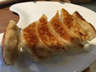 日南鶏の焼ギョーザ