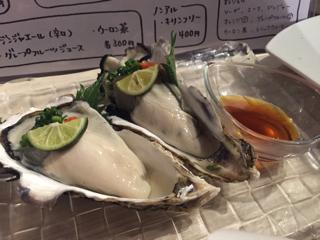 本日の牡蠣(生)