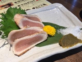 美桜鶏のタタキ