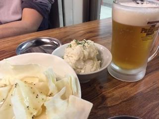 ざくぎりキャベツサラダ・ポテトサラダ