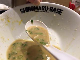 とろりとしたスープ