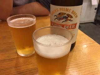 ビール中瓶