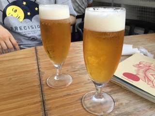ハッピーアワーのオリオンビール