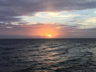 宮城海岸の夕日②