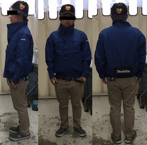 makitaファンジャケット着用画像-3