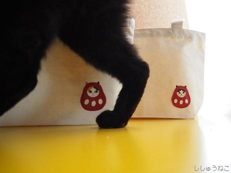 トートと猫足
