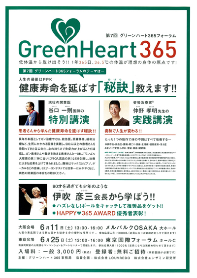 グリーンハート365 フォーラム