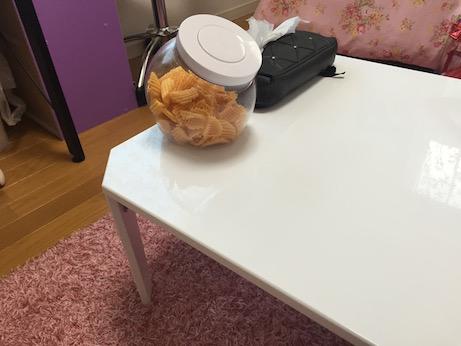 ニトリ 折りたたみローテーブル