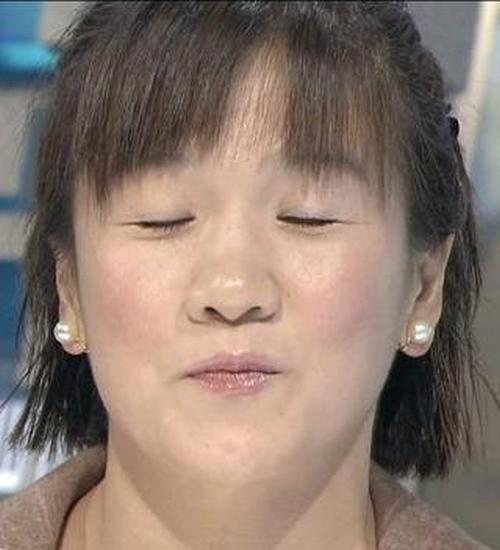登山ブス谷亮子のキス顔