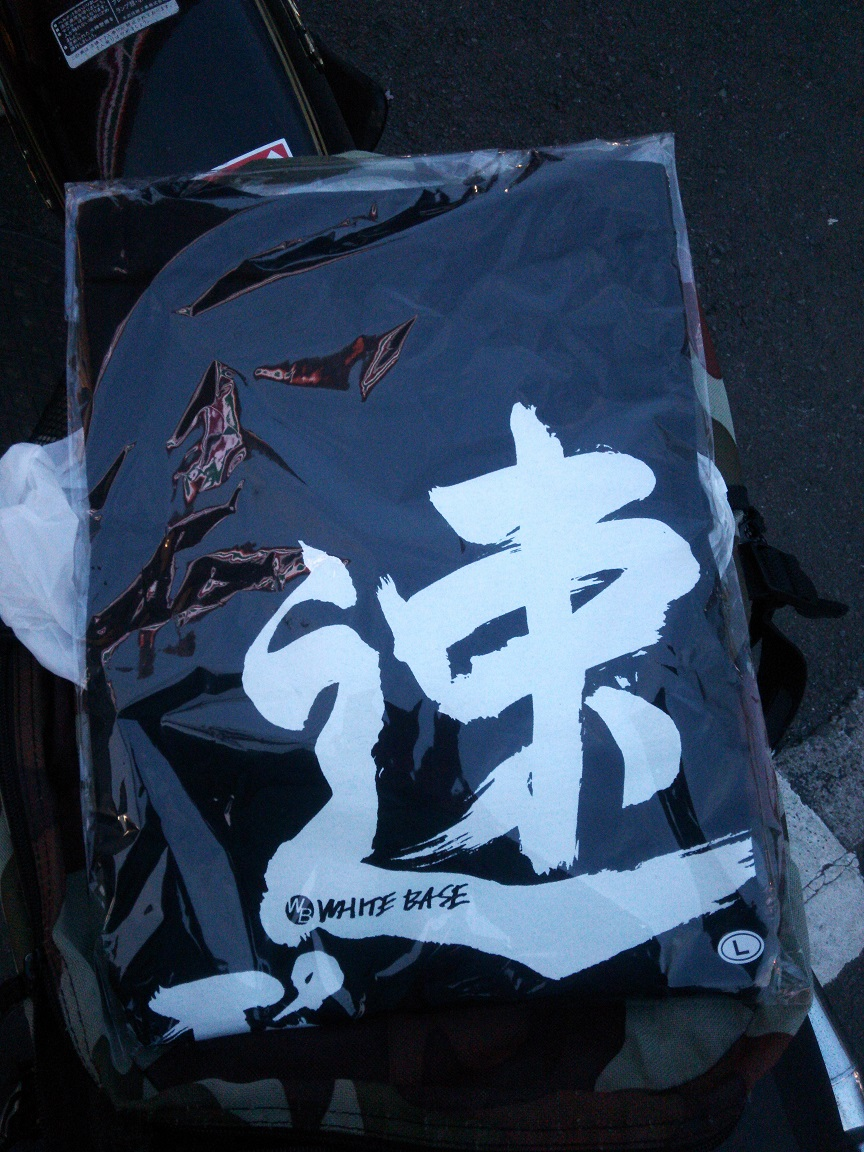 ②速いっぽいTシャツ2