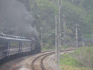 機関車の風景