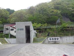 現・湯檜曽駅