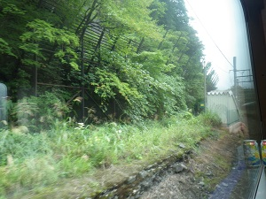旧湯檜曽駅跡