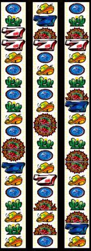アステカのリール配列