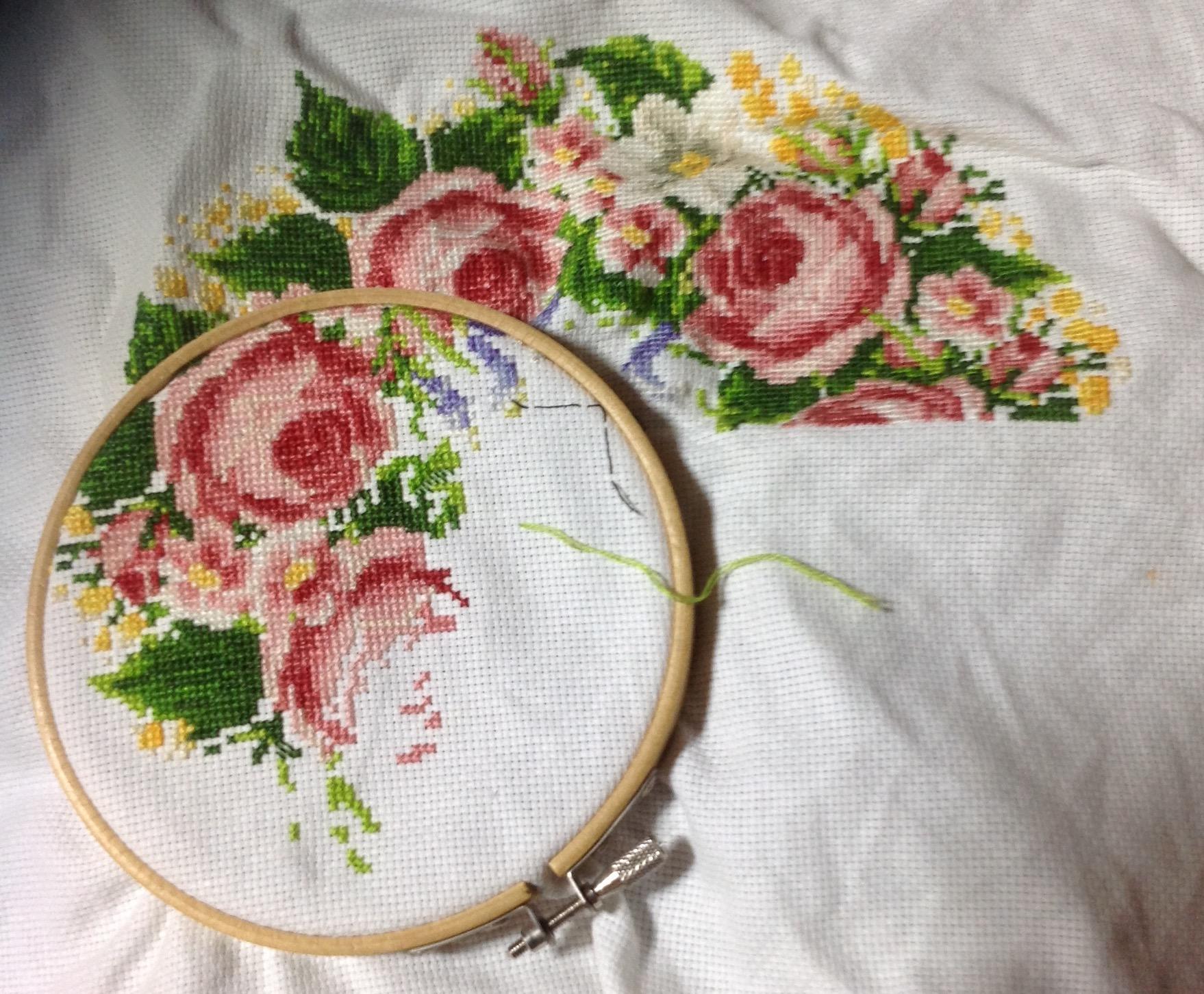 Passione ricamo wreath