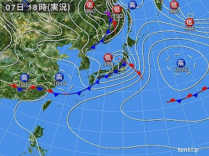 7日天気図