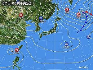 07天気図