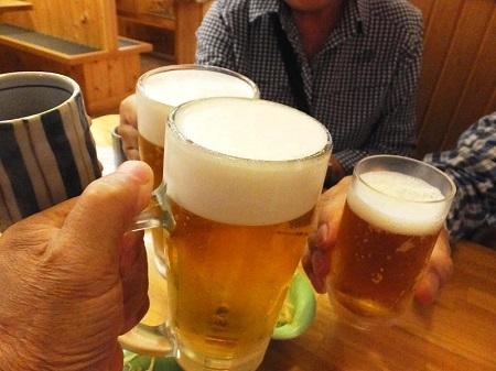 DSCF0496ララン藤岡で乾杯