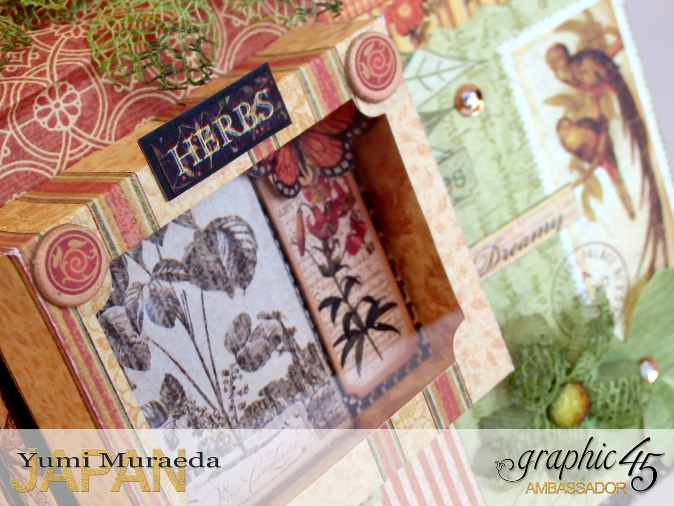 11Secret Gaden Museum Botanicabellaby Yumi MuraedaProduct by Graphic 45