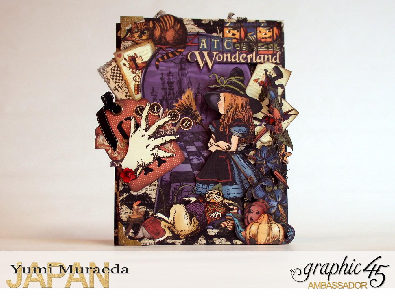 1ATC WonderlandHallowe'en in Wonderland by Yumi MuraeadaProduct by Graphic 45