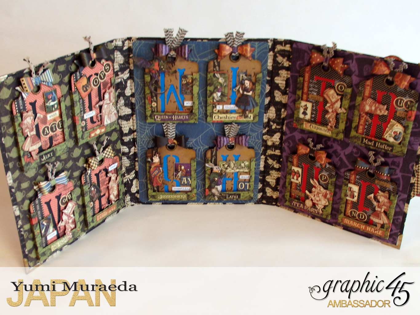 5ATC WonderlandHallowe'en in Wonderland by Yumi MuraeadaProduct by Graphic 45
