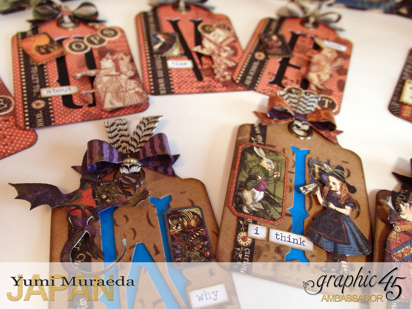 12ATC WonderlandHallowe'en in Wonderland by Yumi MuraeadaProduct by Graphic 45