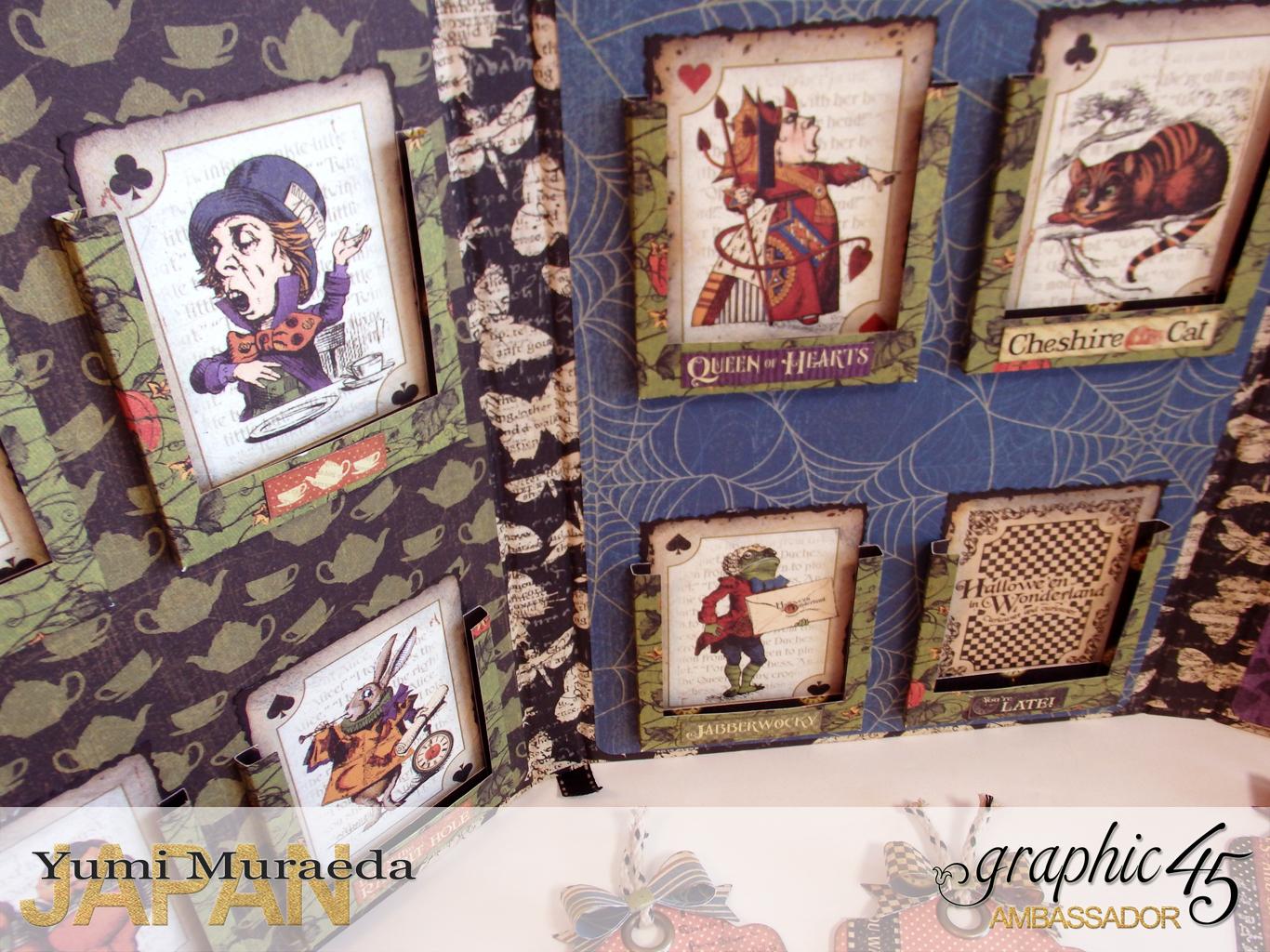 11ATC WonderlandHallowe'en in Wonderland by Yumi MuraeadaProduct by Graphic 45