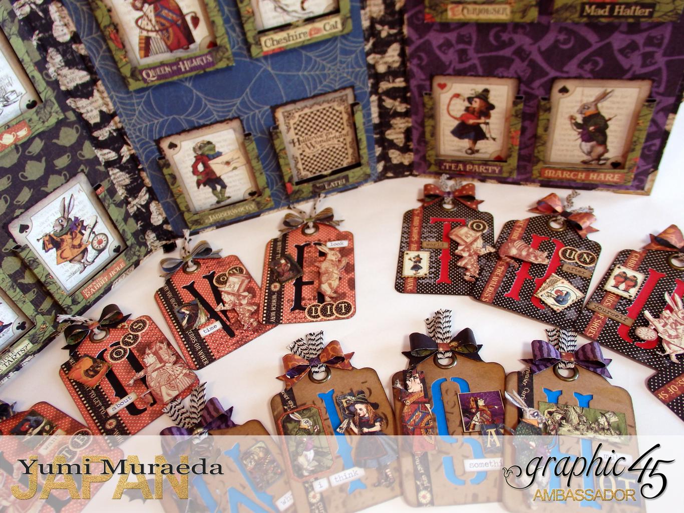 15ATCWonderlandHallowe'enin Wonderland by Yumi MuraeadaProduct by Graphic 45
