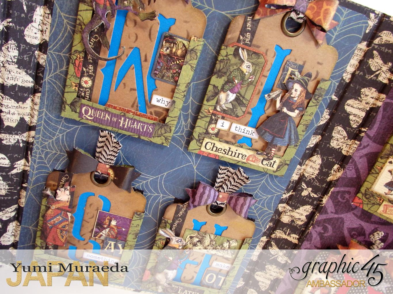 16ATCWonderlandHallowe'enin Wonderland by Yumi MuraeadaProduct by Graphic 45