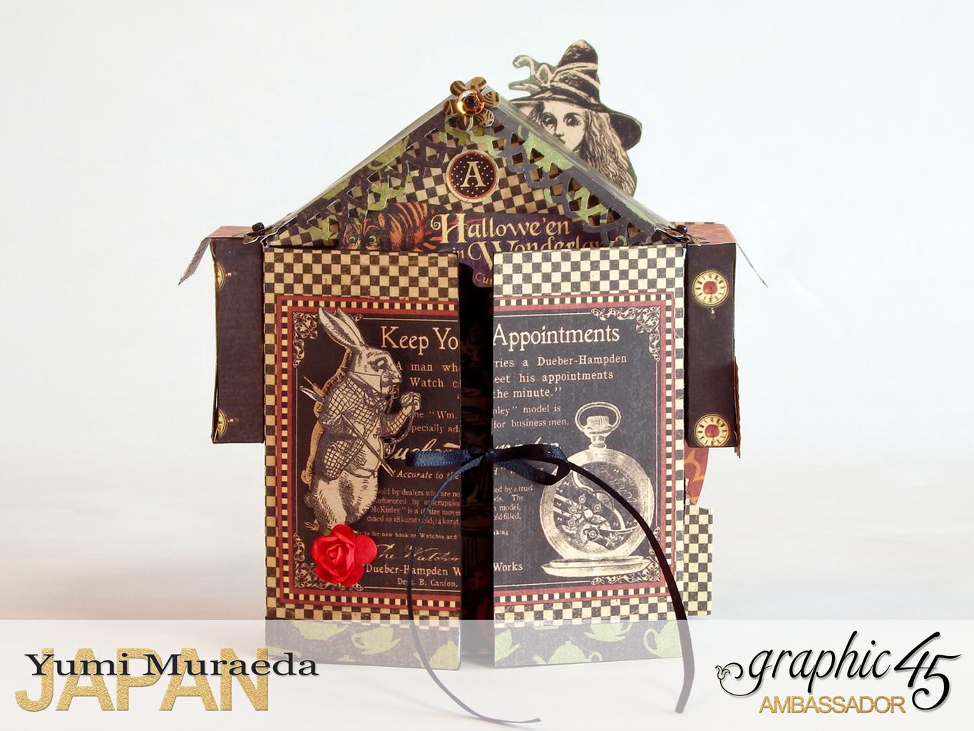 1 Alices Odd Tea HouseHalloween Wonderlandby Yumi MuraedaProduct by Graphic 45