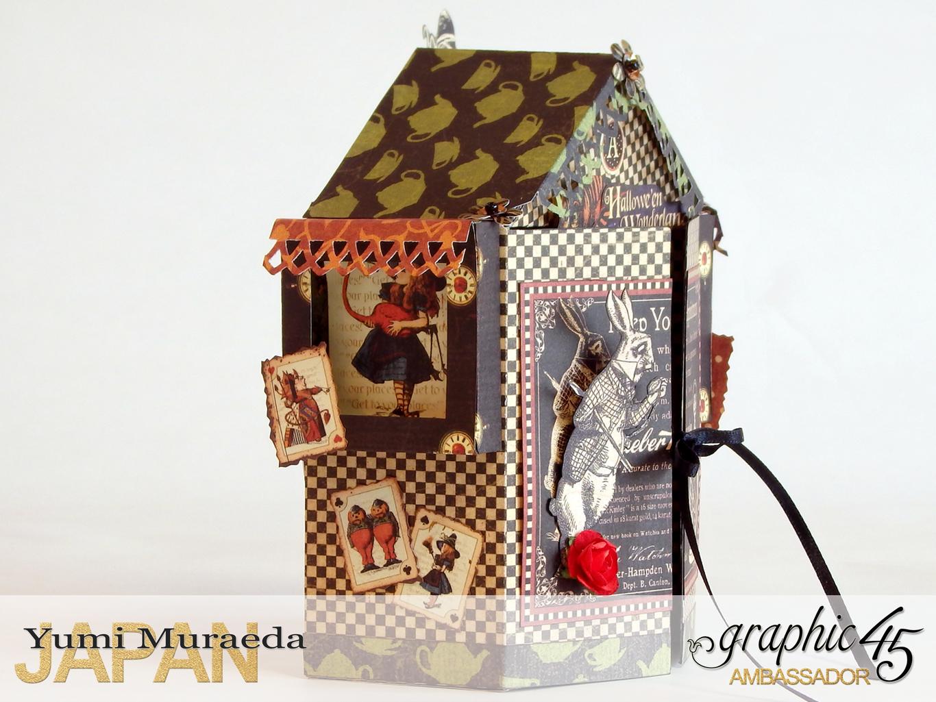 2 Alices Odd Tea HouseHalloween Wonderlandby Yumi MuraedaProduct by Graphic 45