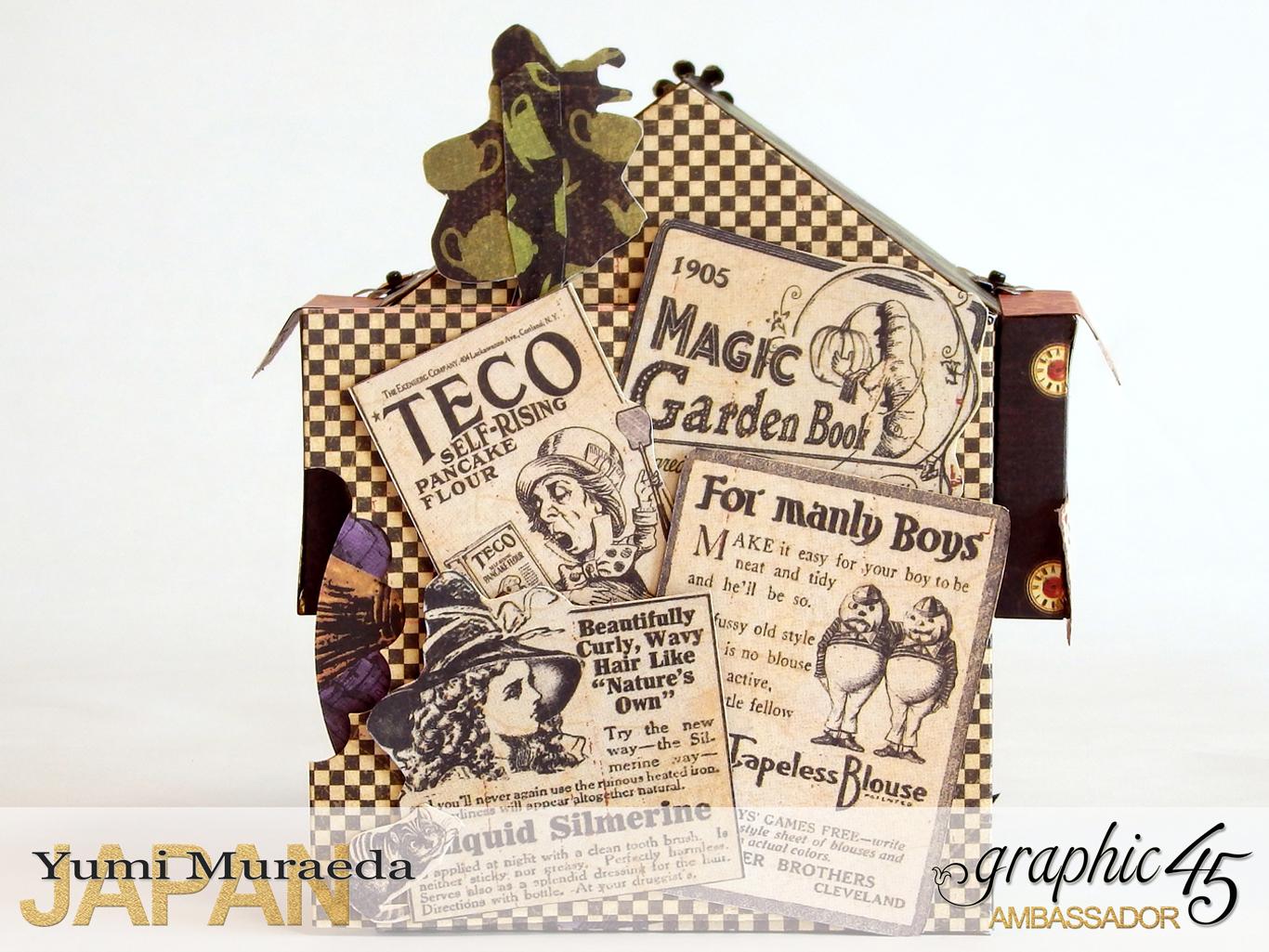 3 Alices Odd Tea HouseHalloween Wonderlandby Yumi MuraedaProduct by Graphic 45