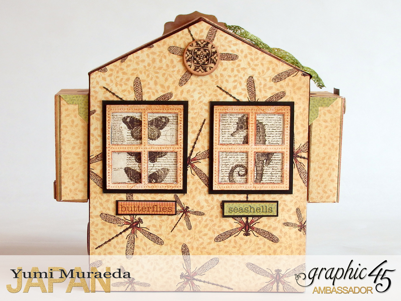 3Secret Gaden Museum, Botanicabella, by Yumi Muraeda, Product by Graphic 45jpg