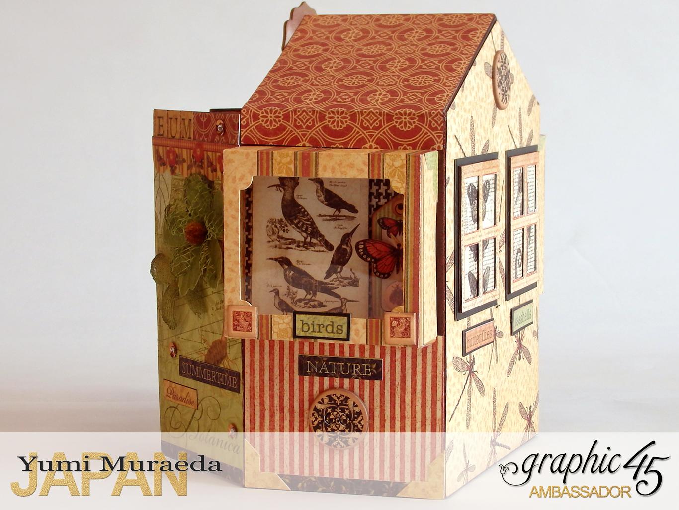 4Secret Gaden Museum, Botanicabella, by Yumi Muraeda, Product by Graphic 45jpg