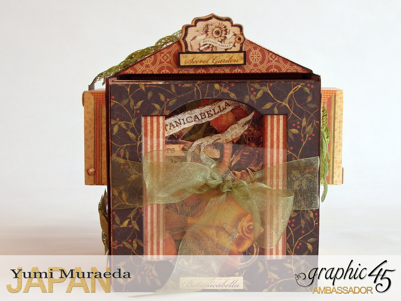5Secret Gaden Museum, Botanicabella, by Yumi Muraeda, Product by Graphic 45jpg
