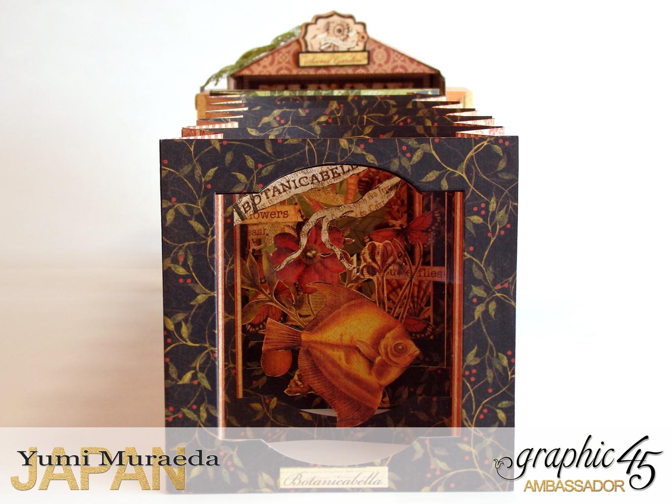 6Secret Gaden Museum, Botanicabella, by Yumi Muraeda, Product by Graphic 45jpg