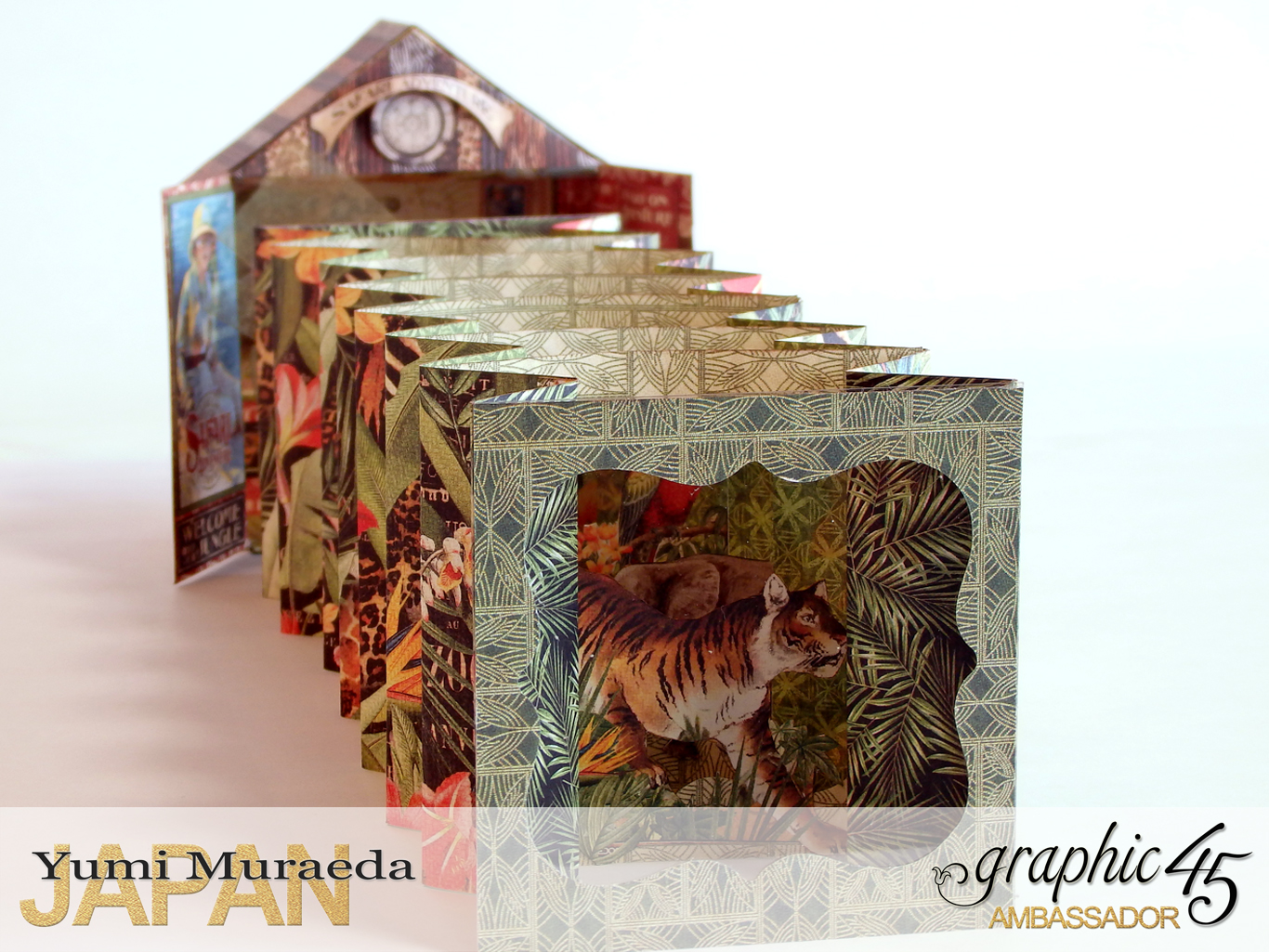 4Safari Park Ranger Office, Safari Adventure, by Yumi Muraeda, Product by Graphic 45jpg
